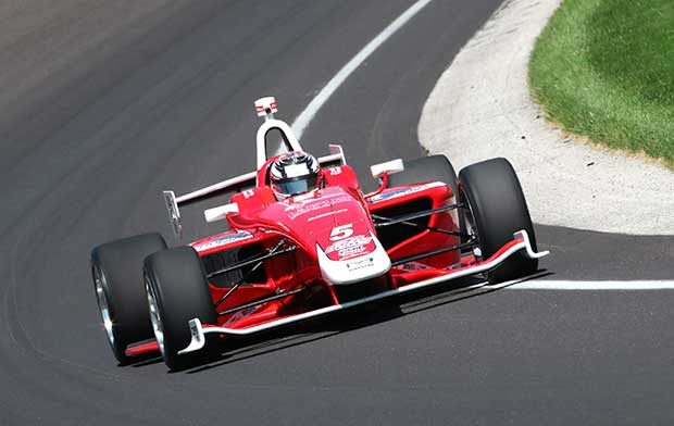 Veach Tops 200 MPH Unofficially In Freedom 100 Test Day