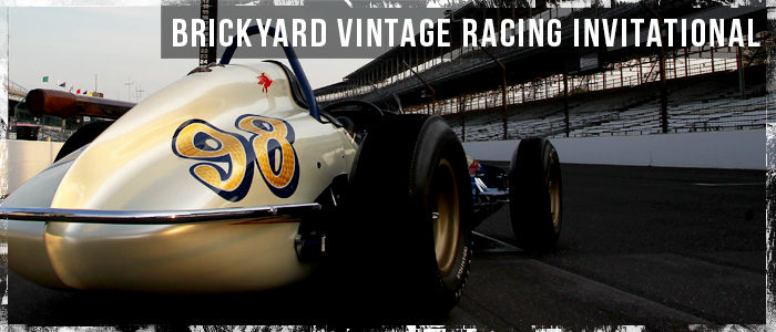 Vintage race cars compete in Indianapolis