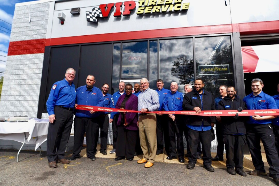 VIP Tires & Service Is Changing Oil for Education at Its Newest Store