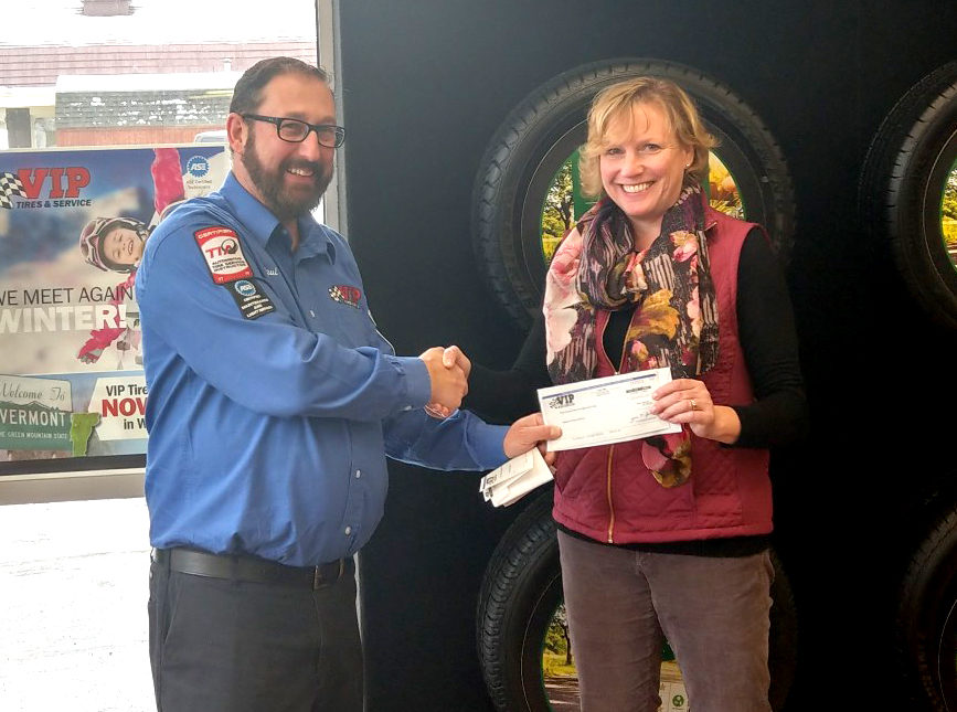 VIP Turns Oil Changes Into Cash for Local Schools
