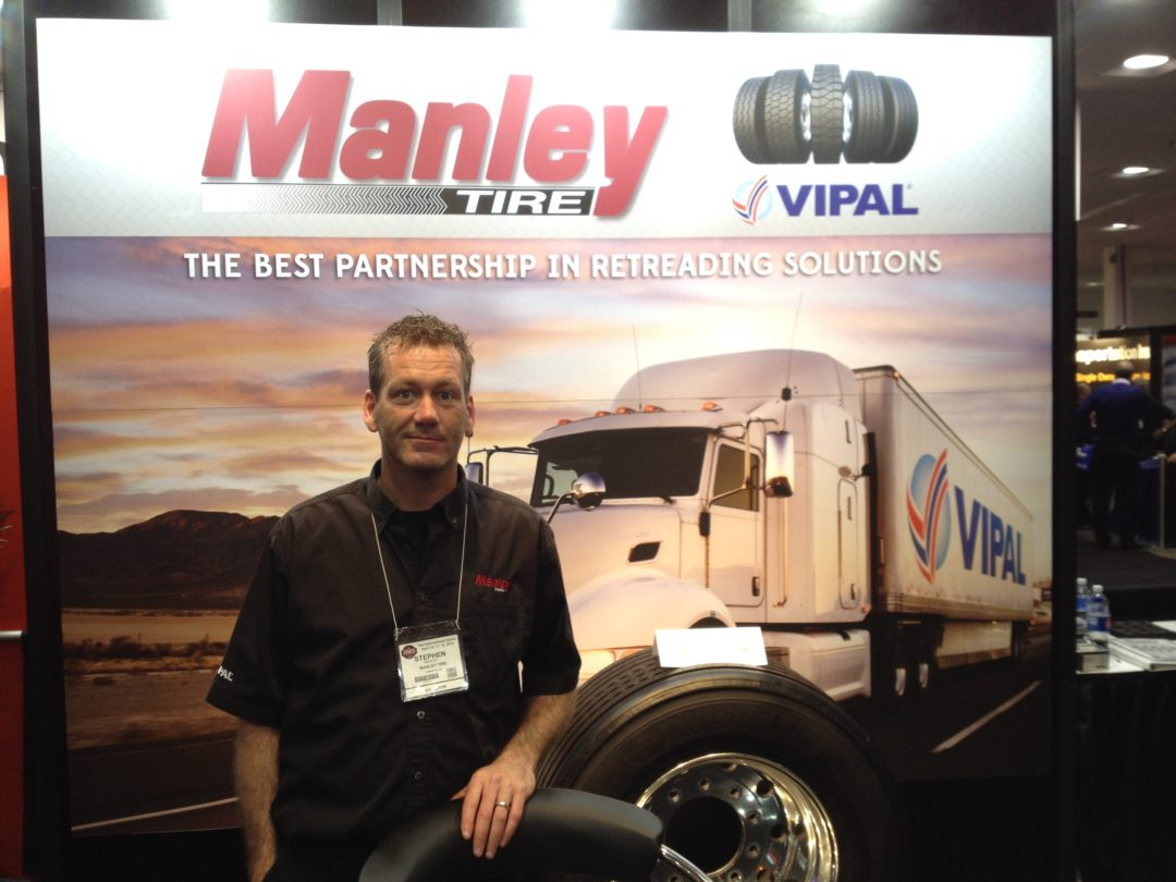 Vipal exhibited at Truck World 2014 in Canada