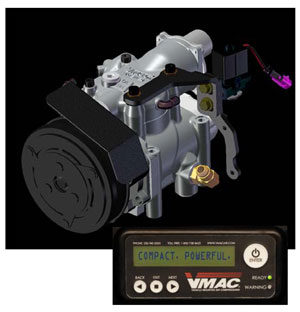 VMAC 'green' compressor for Ford diesels
