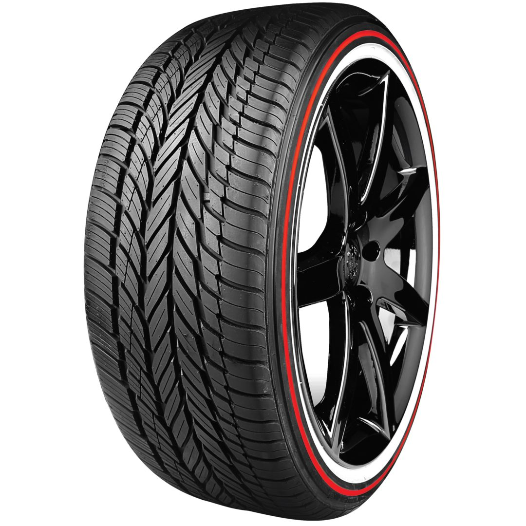 Vogue Unveils Red Stripe Tires for 105th Anniversary