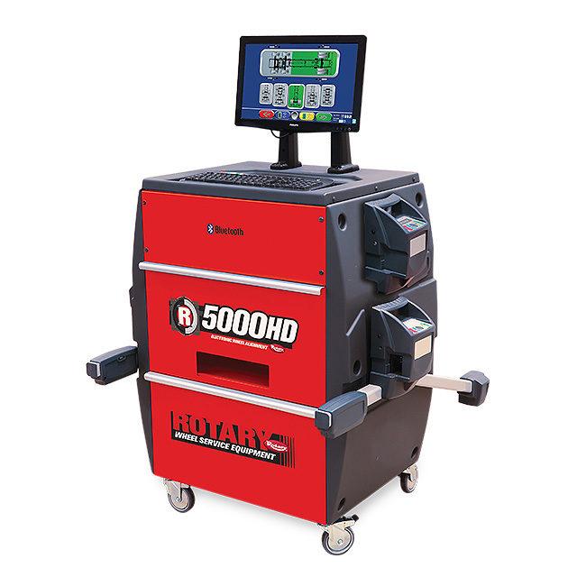 VSG Has New Rotary Truck Alignment System
