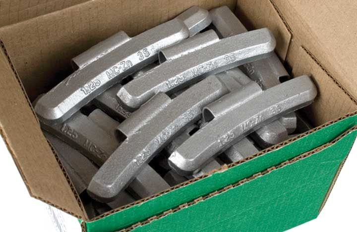Wheel weights: new choices