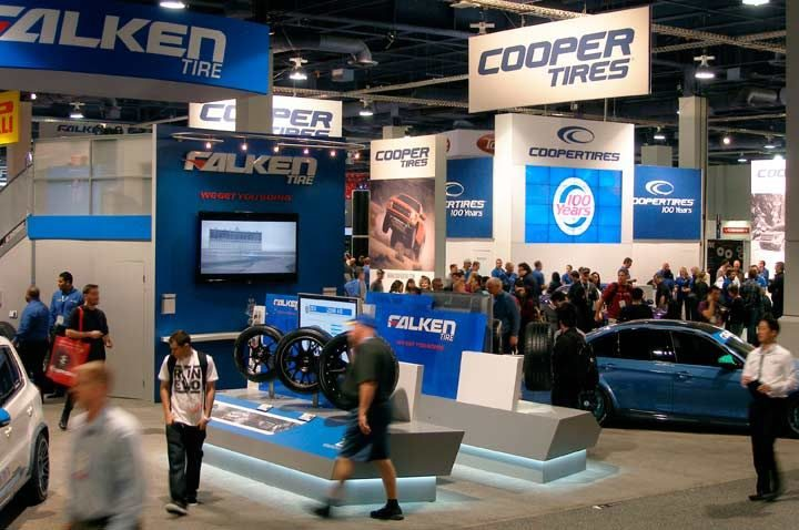Who attended the SEMA Show? Who did not?