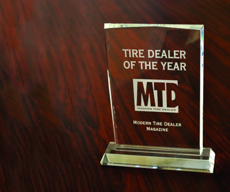 Who will be MTD's 2015 Tire Dealer of the Year?