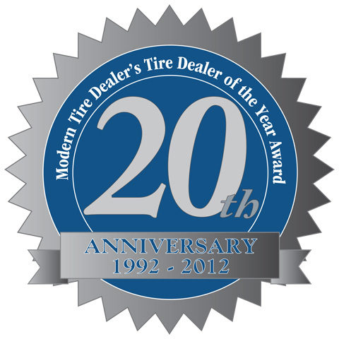 Who will be MTD's 20th Tire Dealer of the Year?