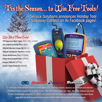 Win free tools from Service Solutions
