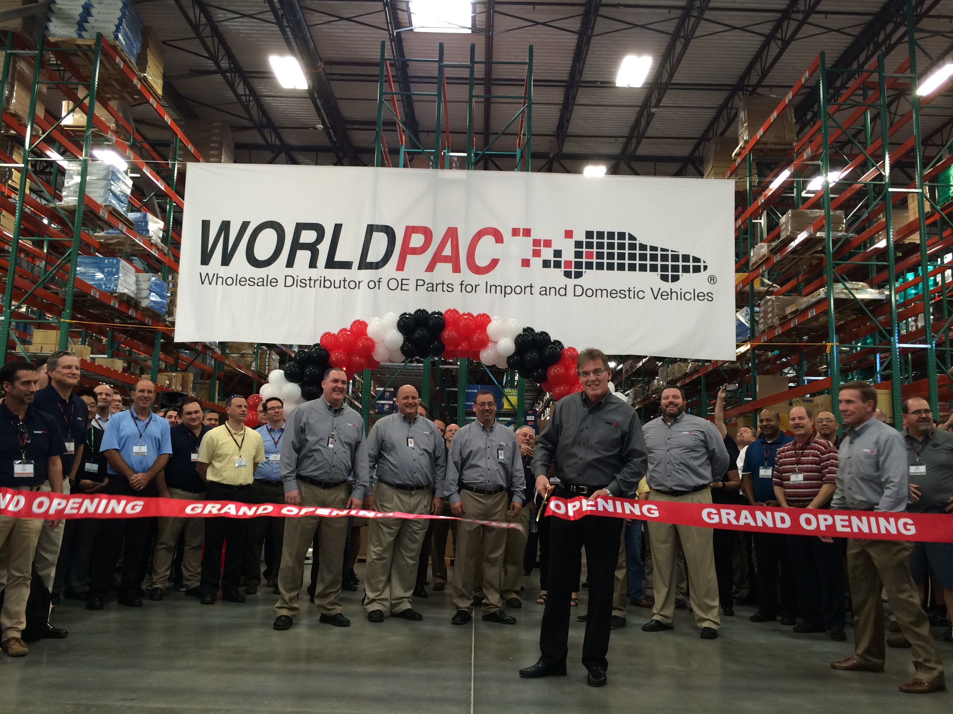 Worldpac Opens Its 5th, and Largest, Distribution Center in U.S.