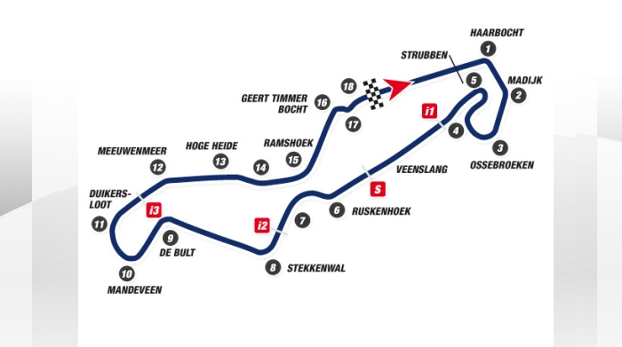 Yamaha MotoGP teams arrives at Assen TT circuit