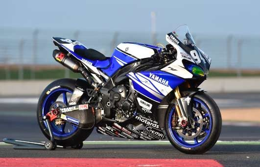 Yamaha prepare for the 24-hours Bol d'Or race