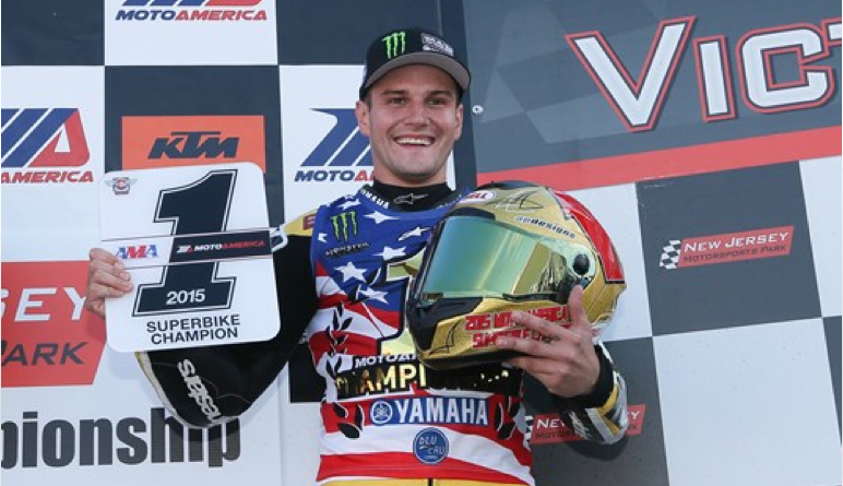 Yamaha reigns in MotoAmerica Racing Series as Beaubier brings home the 2015 Superbike title