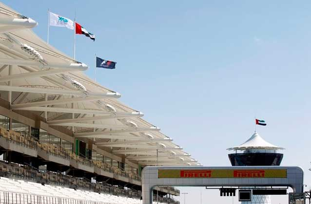 Yas Marina from a tire point of view