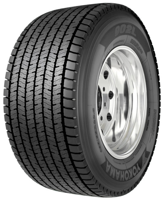 Yokohama Expands Size Offerings for 902L Wide-Base Tire