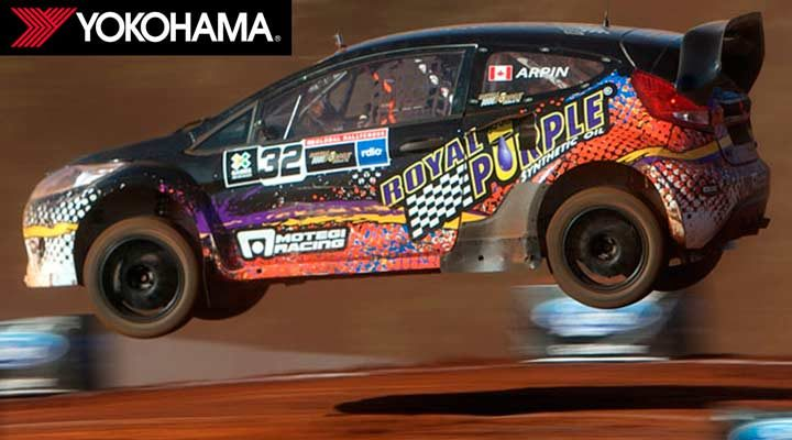 Yokohama named exclusive tire supplier for Red Bull Global Rallycross