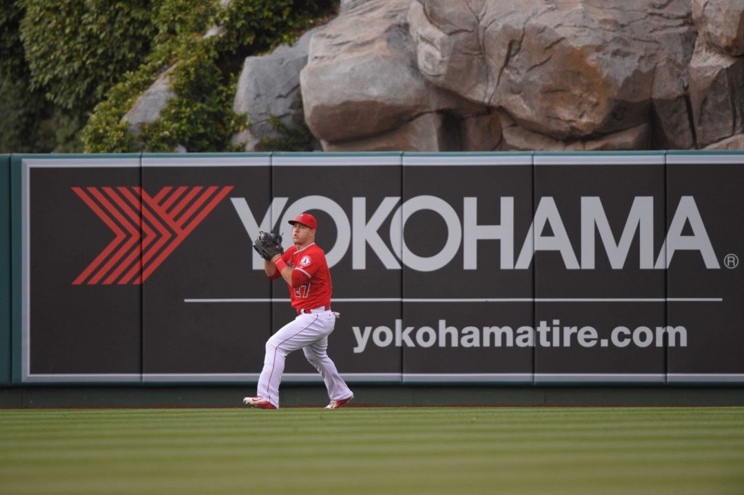 Yokohama Remains an Angel in the Outfield in Anaheim