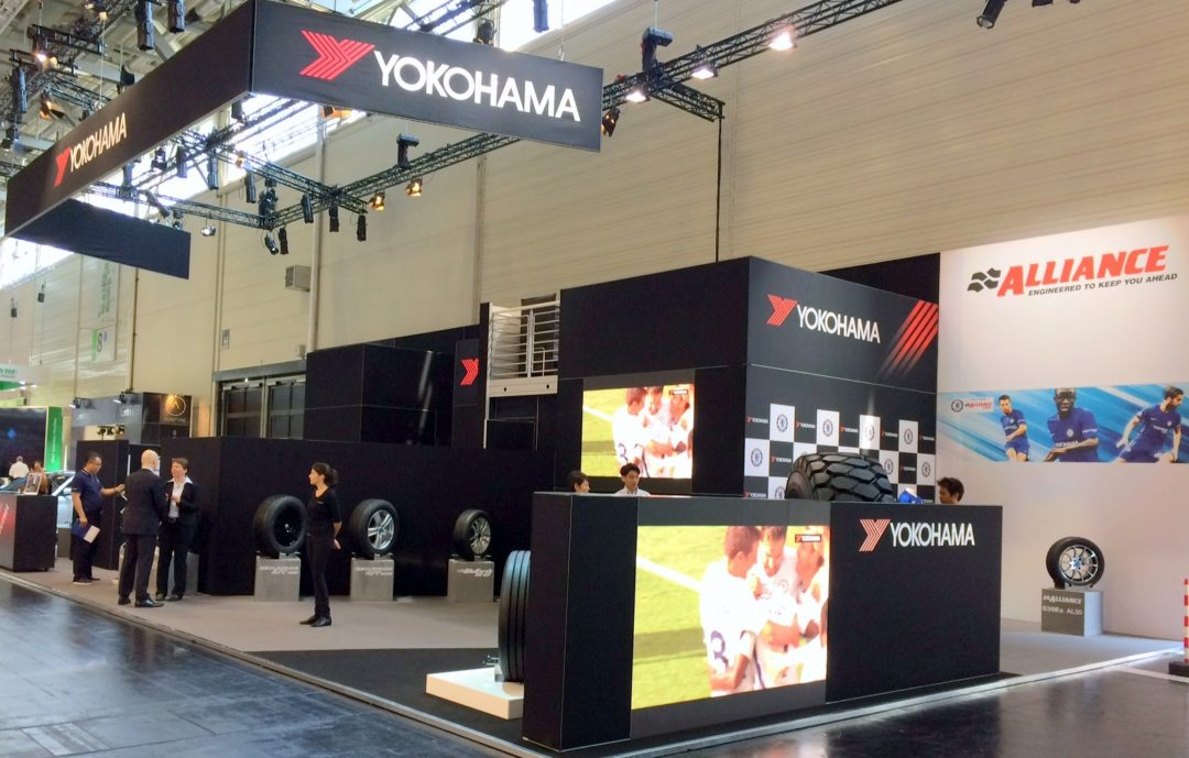 Yokohama Showcases Its Products in Style at Tire Cologne