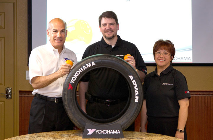Yokohama signs 3-year sponsorship renewal with IMSA