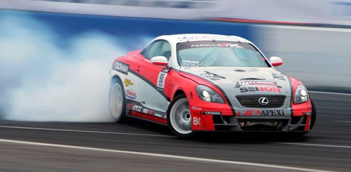 Yokohama slides into 2013 Drifting Program