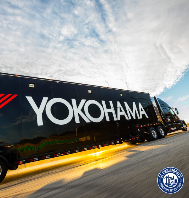 Yokohama Teams with St. Christopher Fund to Help Truck Drivers